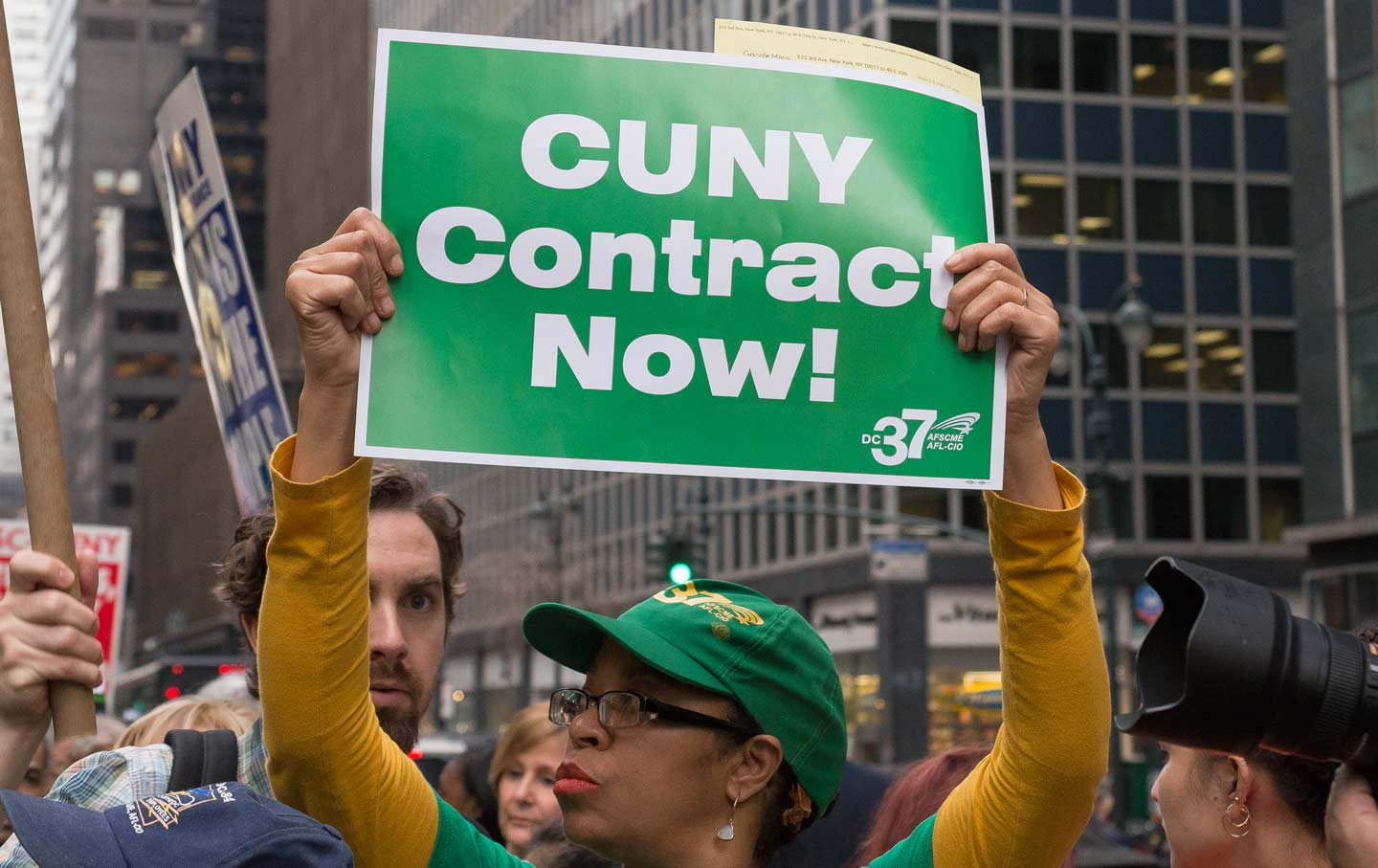 CUNY Protest