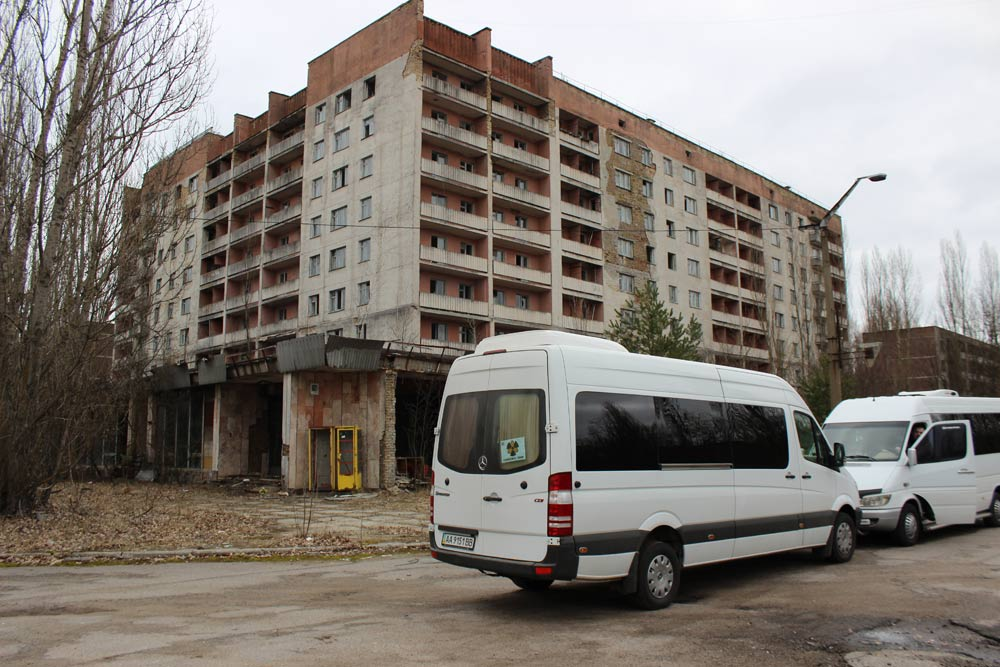 A tour of Chernobyl's exclusion zone