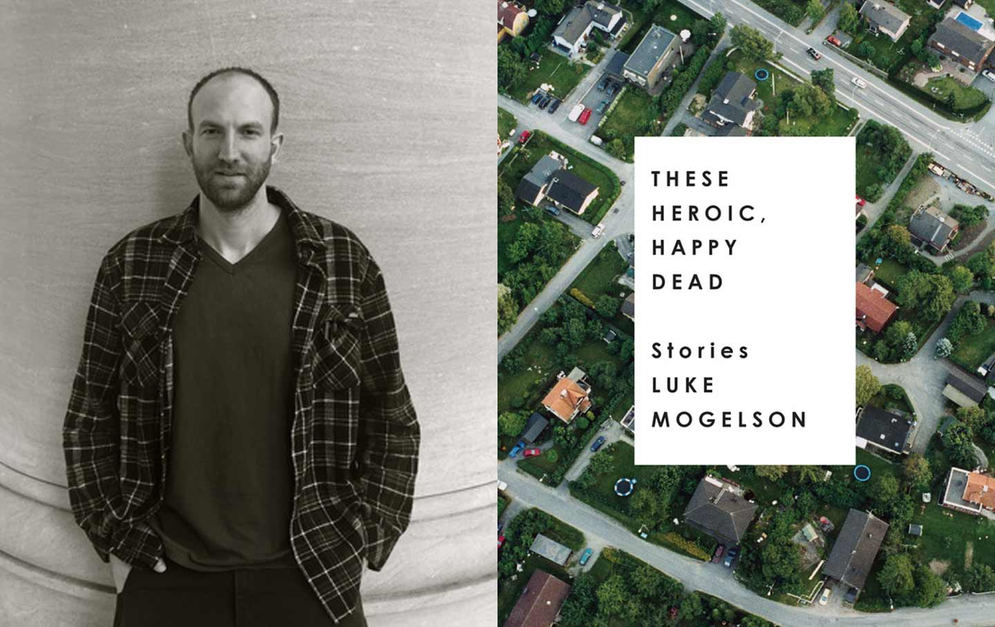 Author Luke Mogelson and his book These Heroic, Happy Dead