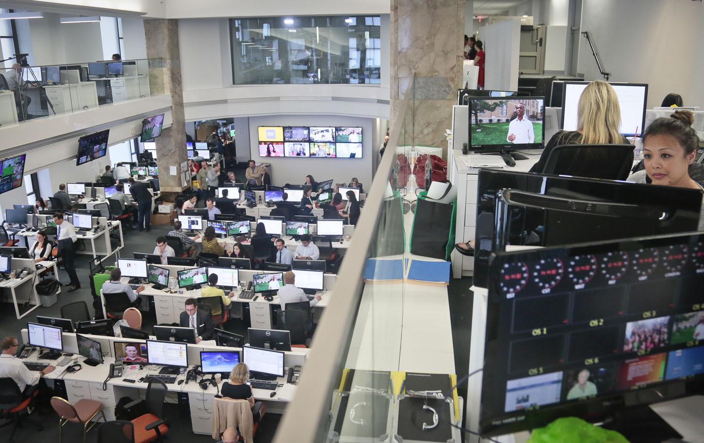 Al Jazeera America Newsroom