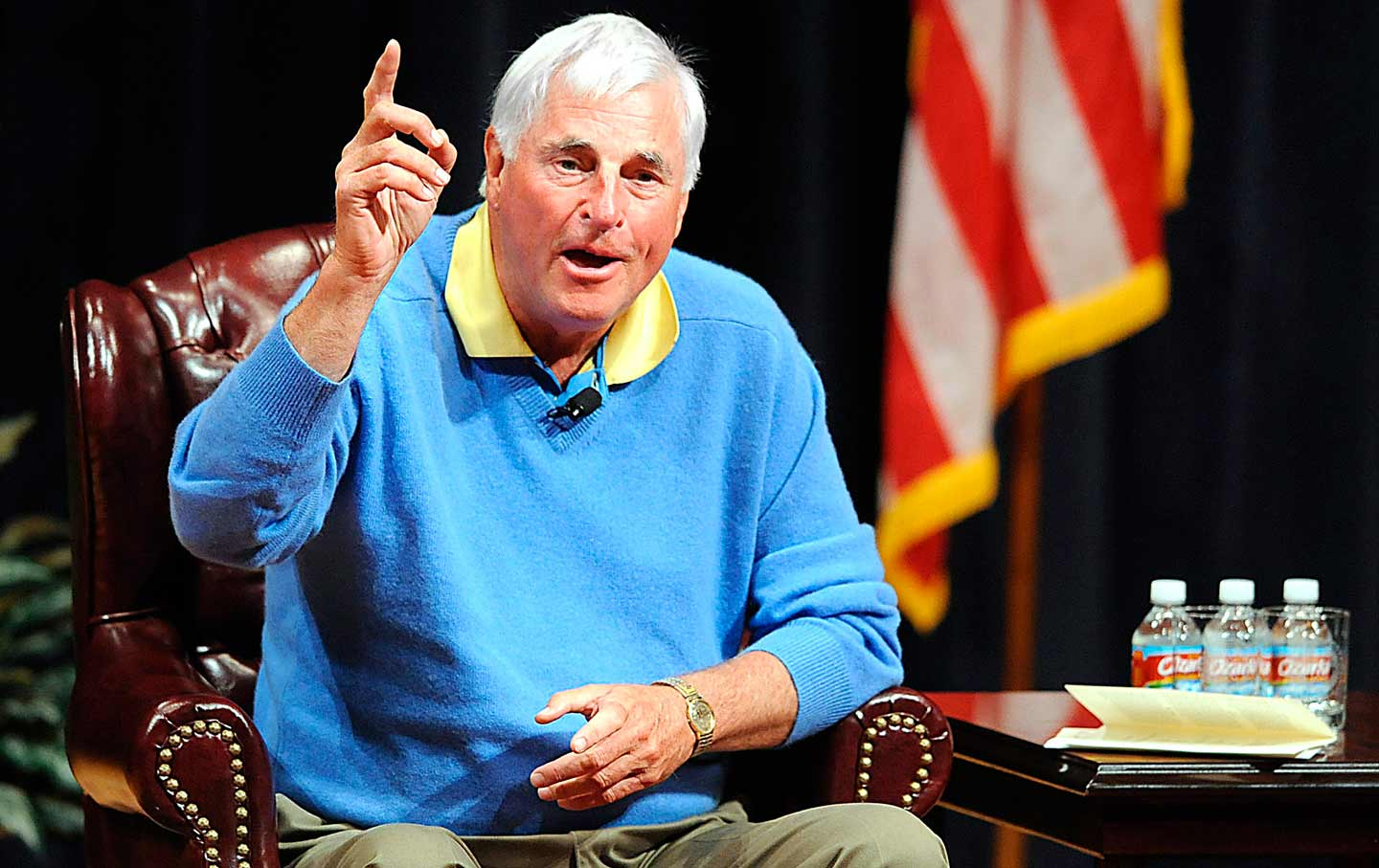 Bob Knight Saying Something Bad
