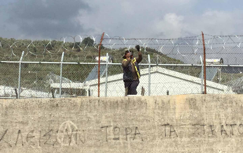 Moria Refugee Camp in Lesbos