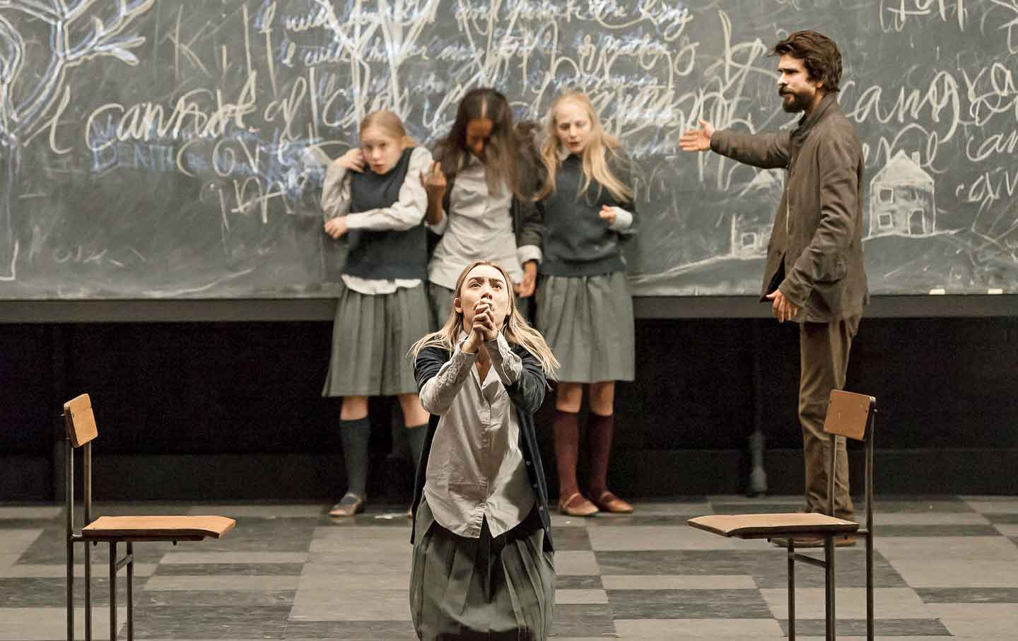 how to succeed on broadway the nation a scene from arthur miller s the crucible directed by ivan van hove jan versweyveld