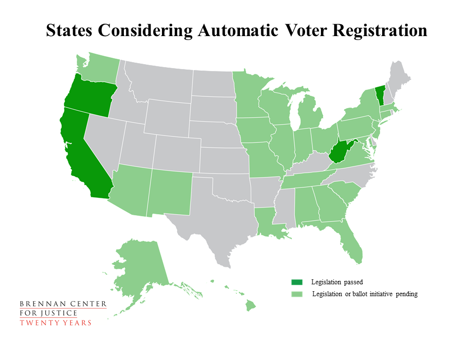 Oregon Is Also Leading The Way On Voting Rights By Adopting Reforms Like All Mail Voting Online Voter Registration And Pre Registration For 17 Year Olds