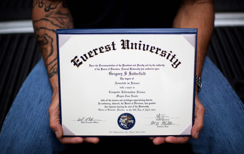 Everett University Diploma