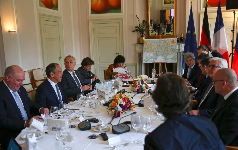 Ukraine peace talks in Germany