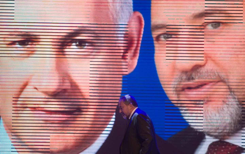 Netanyahu Lieberman
