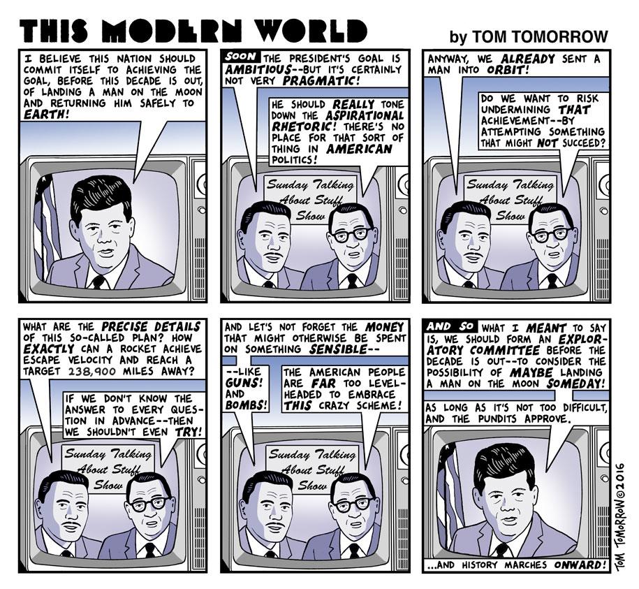 Tom Tomorrow cartoon