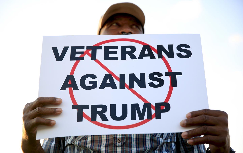 Veterans against Trump