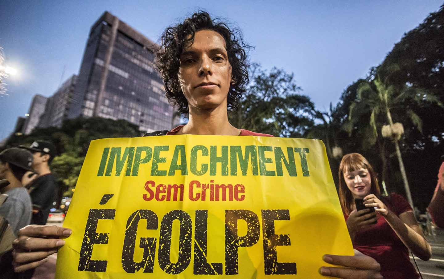 Brazil Impeachment Protest