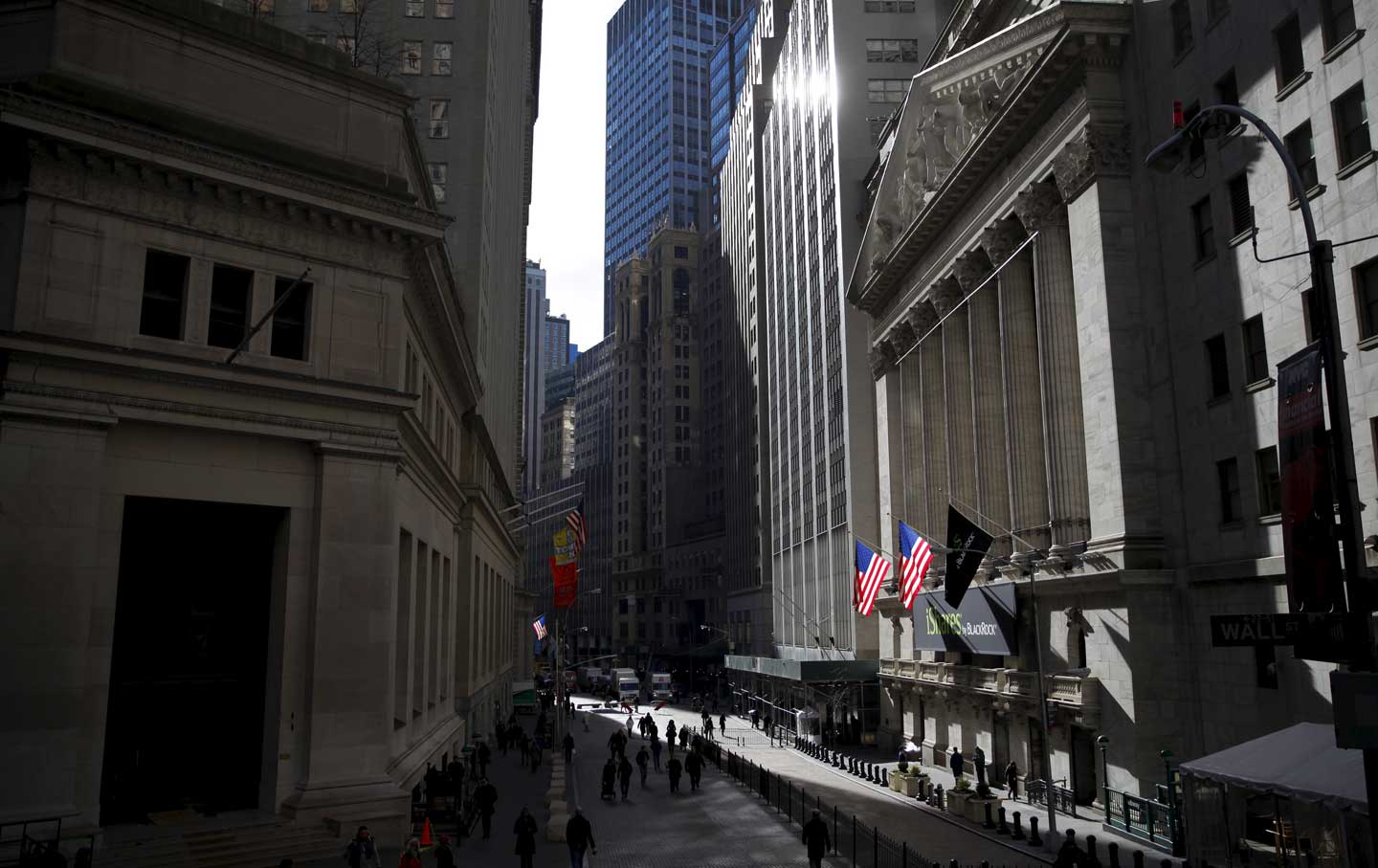 The New York Stock Exchange building