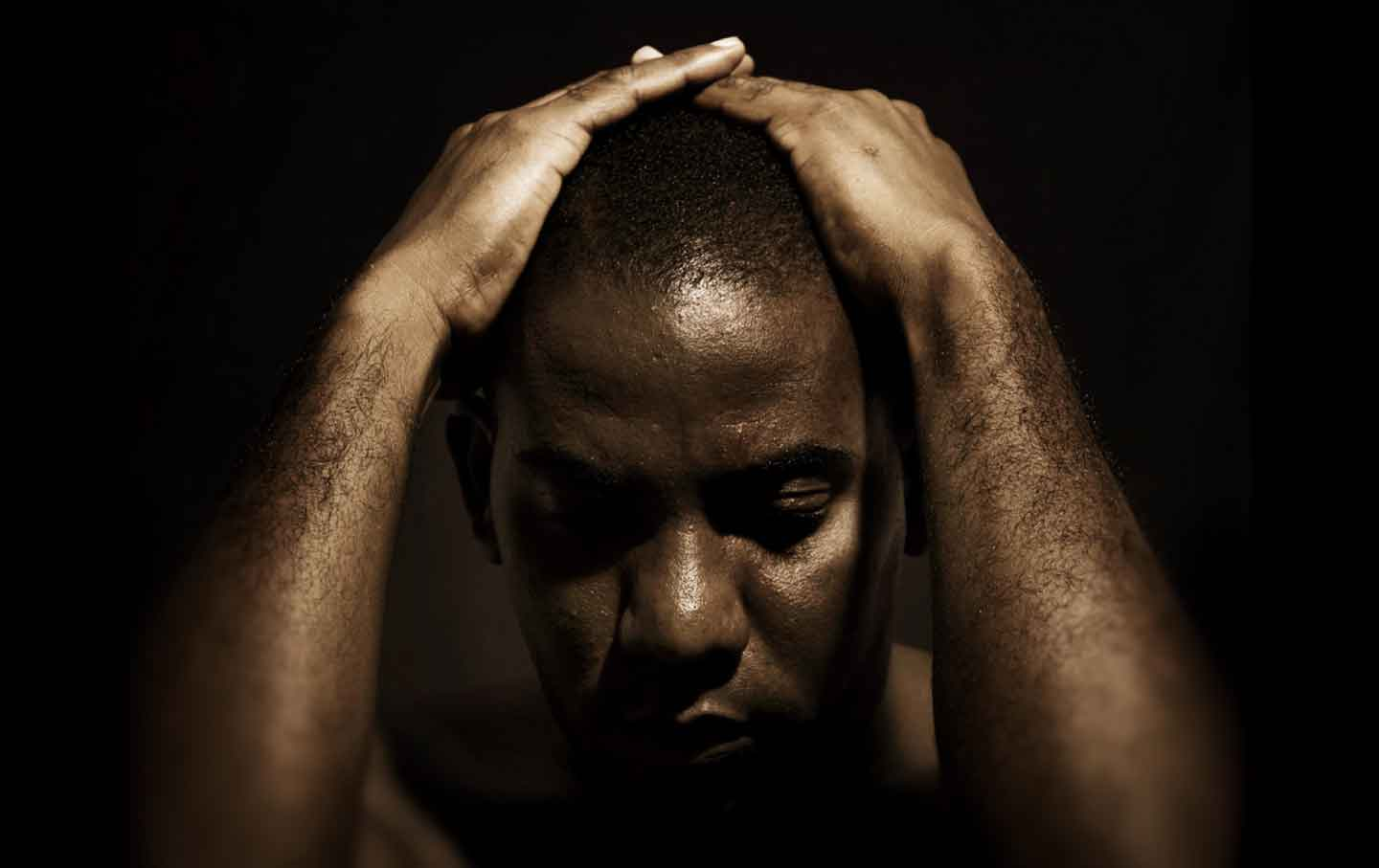 black men in america American black men have historically been depicted as violent, and the racist fear that has resulted means they're actually constantly at risk and deeply fragile.