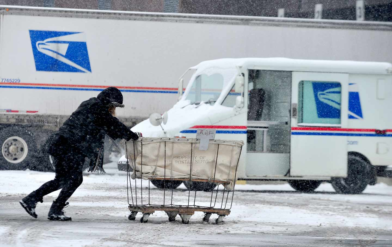 USPS Snowstorm