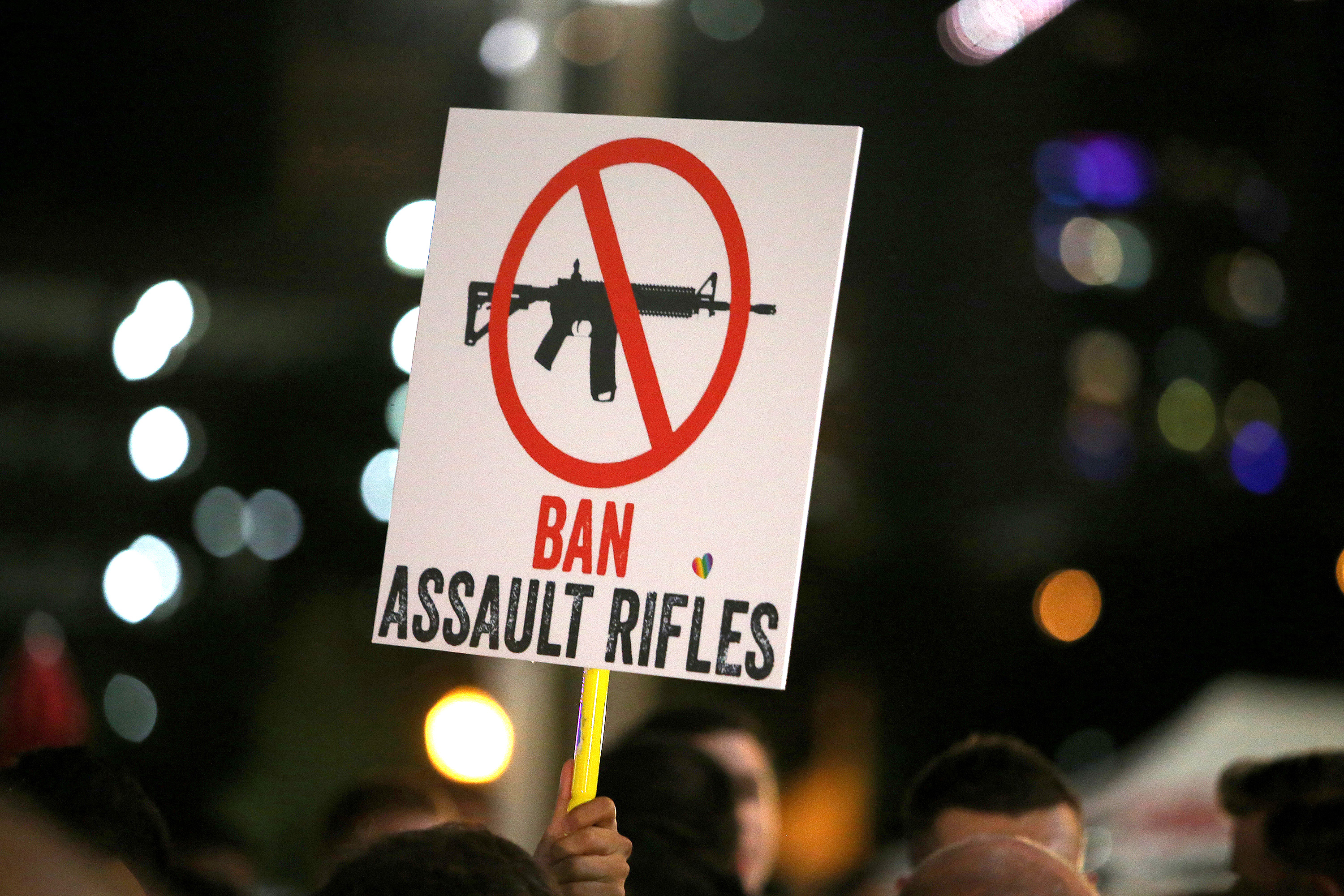 ban on assault weapons Fifty people murdered, 53 others wounded, because a man with hatred in his heart had a way to overreact: with an assault rifle.