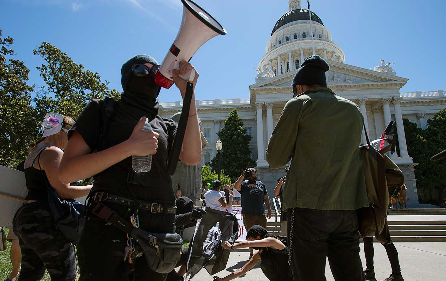 Sacramento ANTIFA group