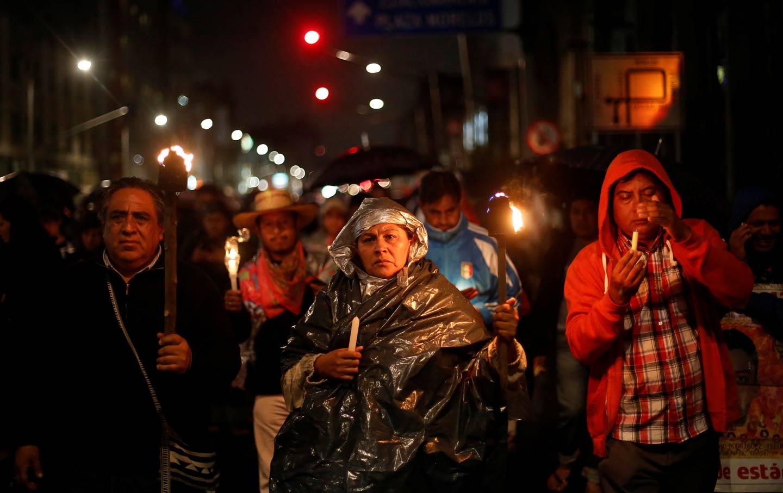 Vigil for CNTE teachers