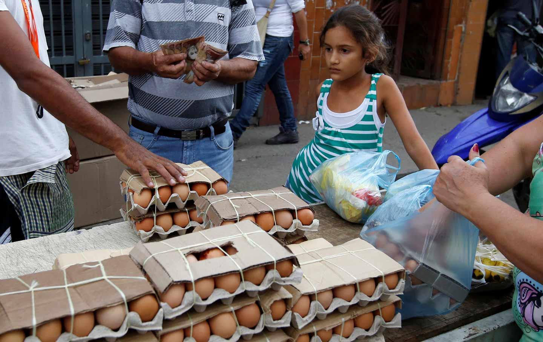 Venezuelan food market