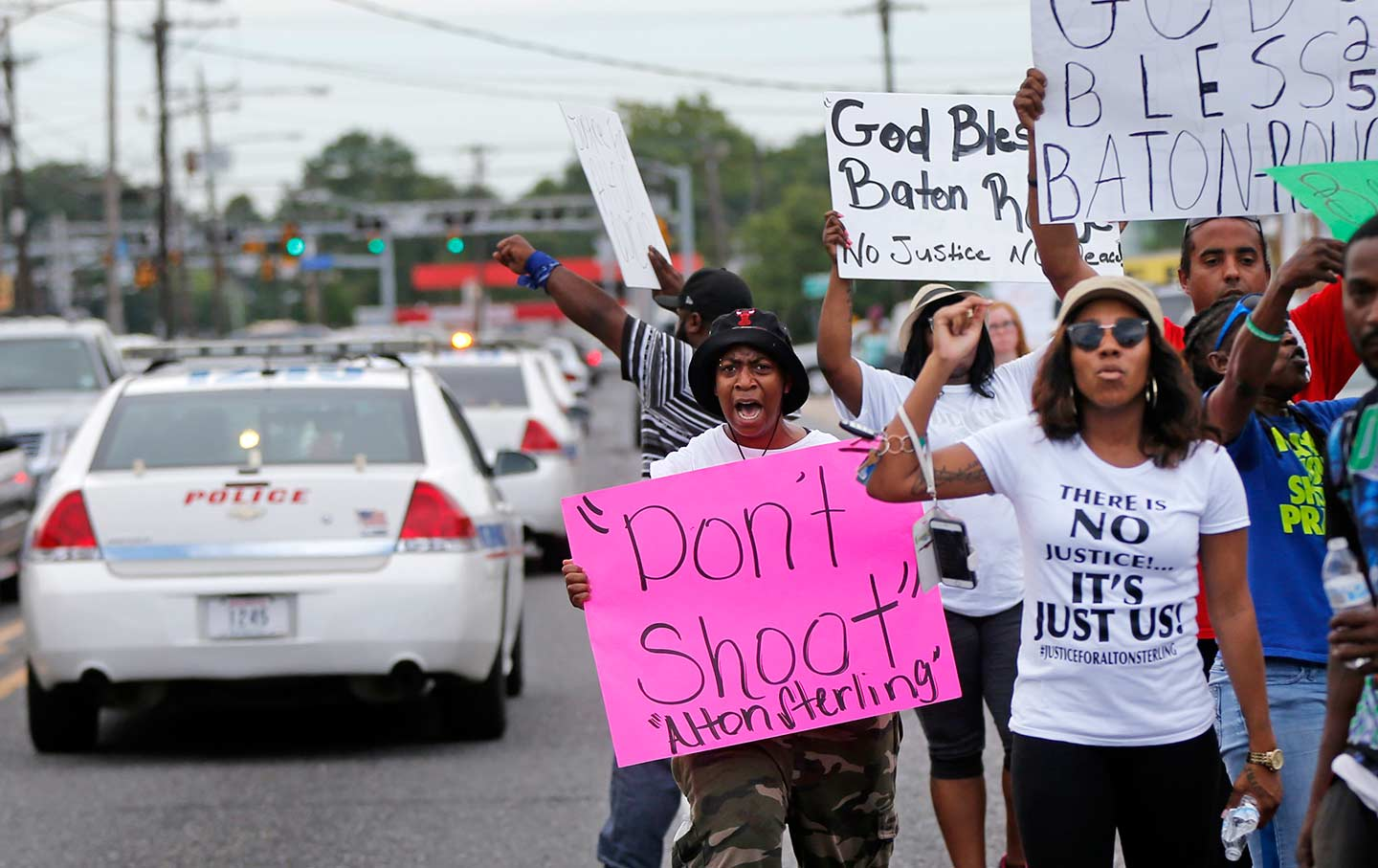 Alton Sterling protest
