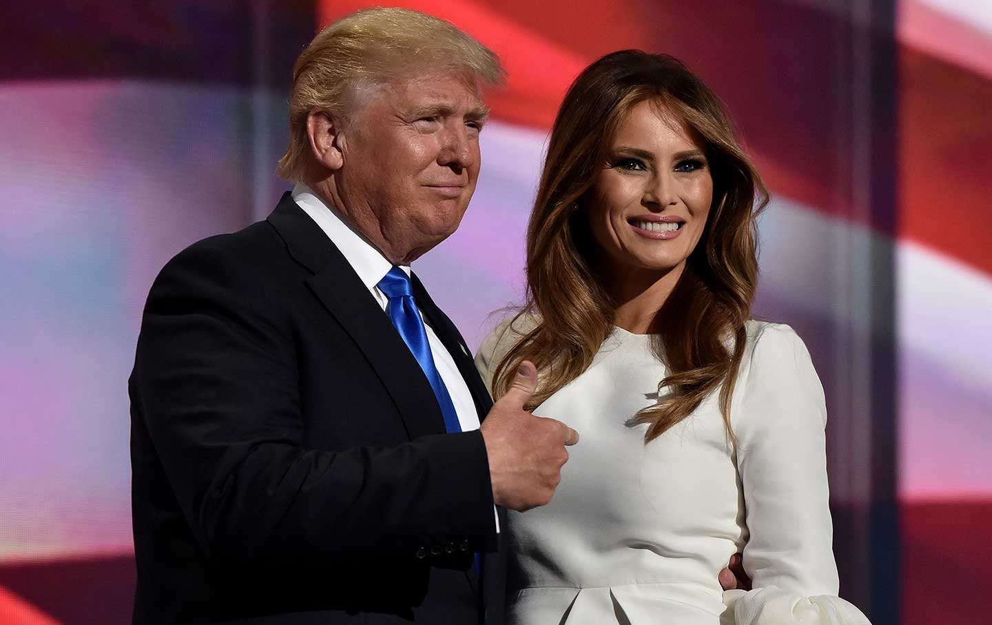 Donald_Melania_Trump_RNC_Night_One_ap