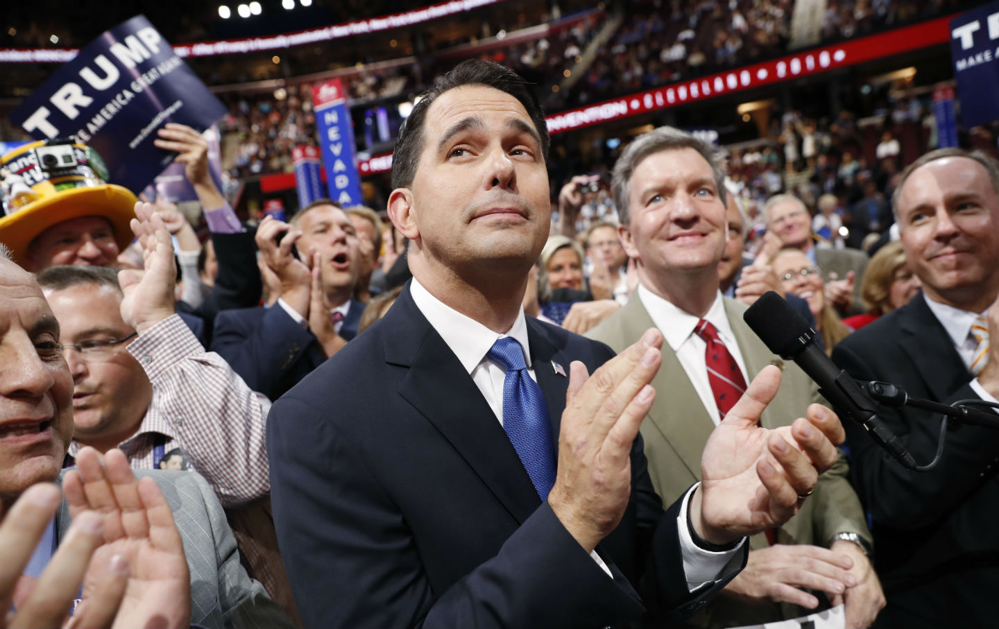 Scott Walker at RNC