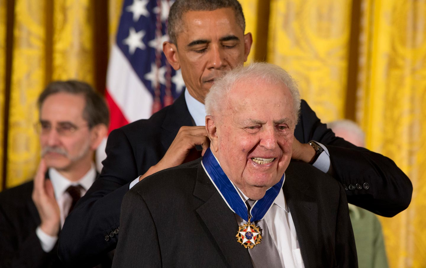 Abner Mikva and Barack Obama