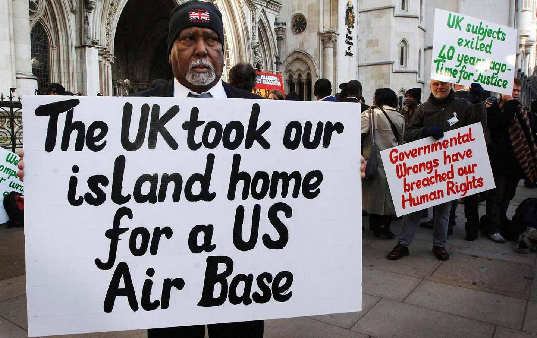 Chagos Islanders Protest
