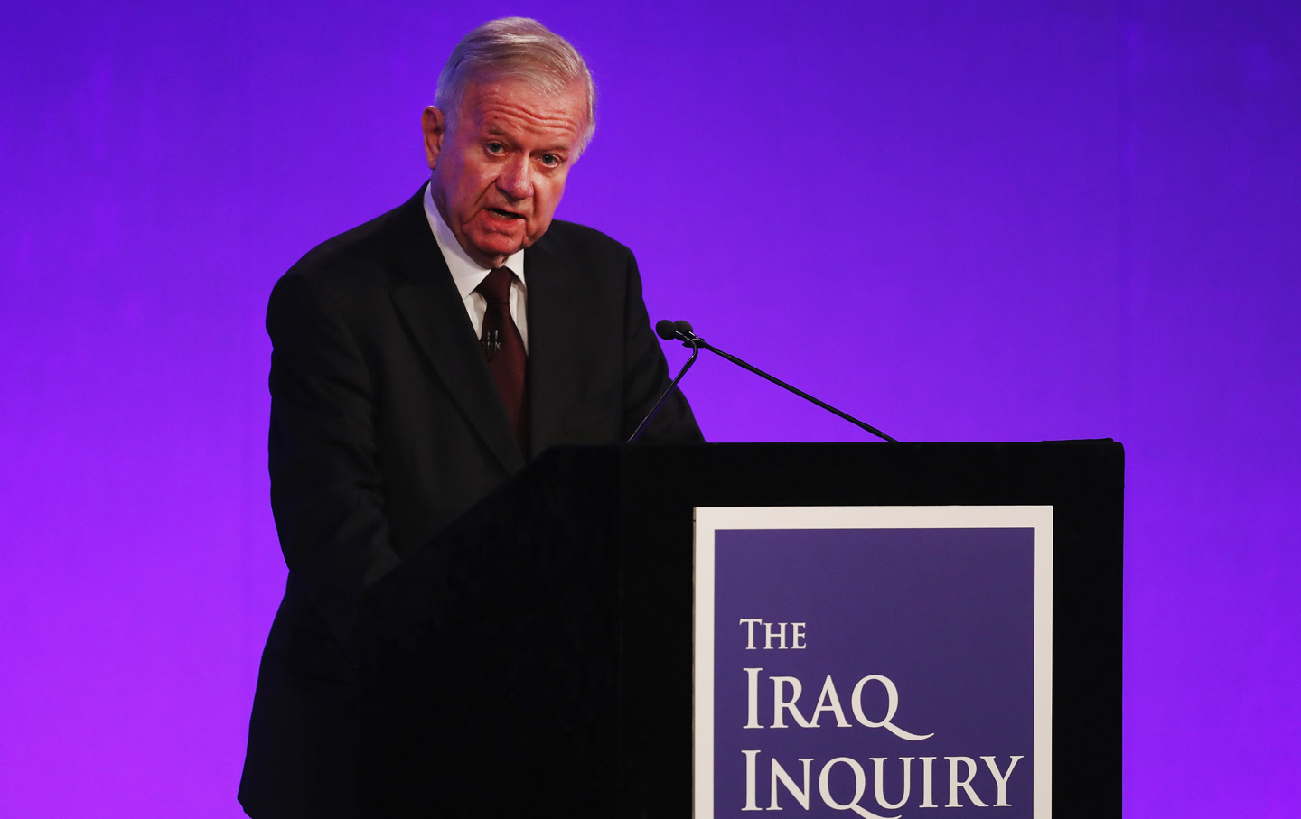 John Chilcot Iraq Inquiry