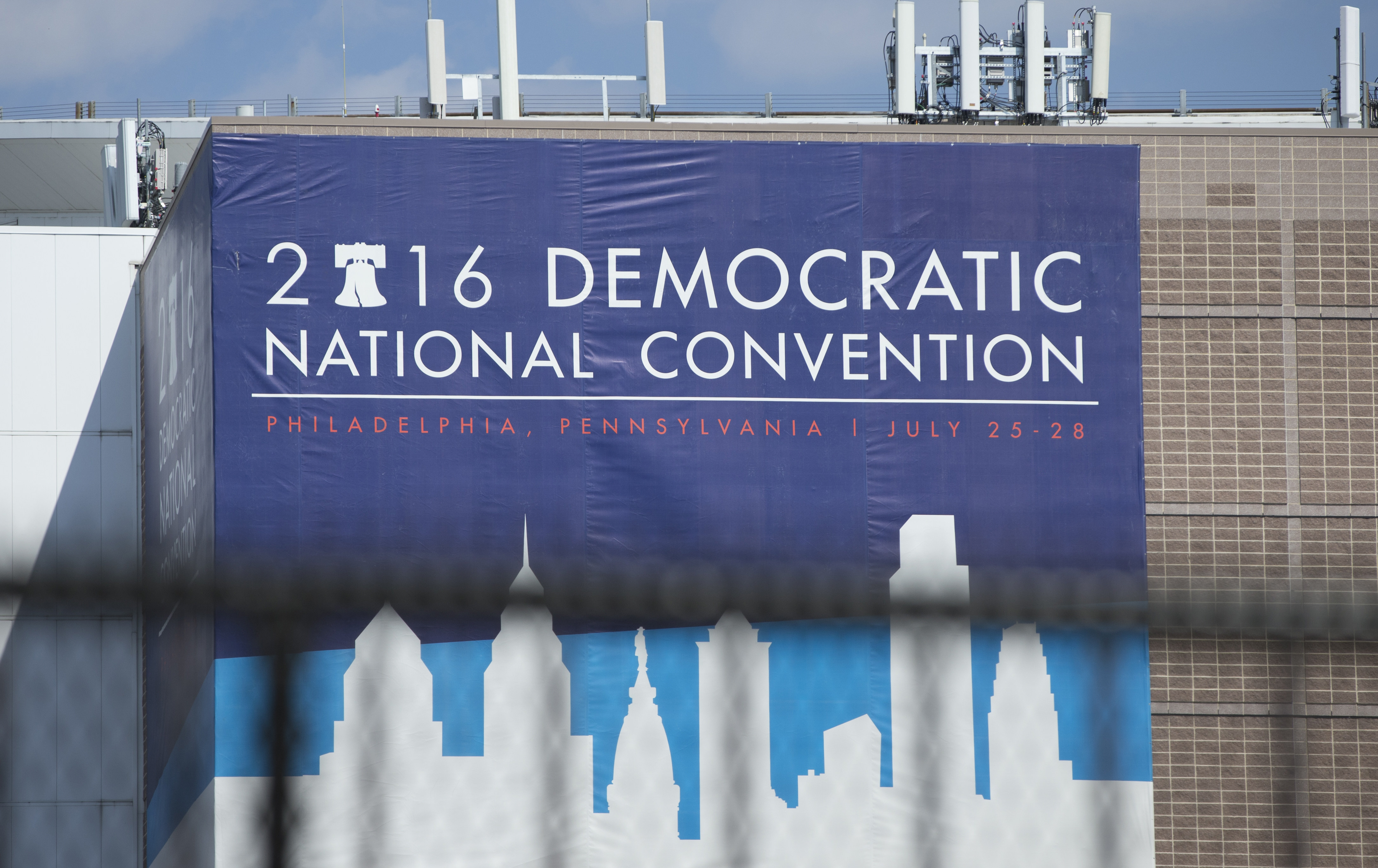 The Democratic National Convention Banner