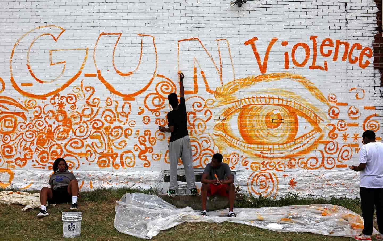 Mural Against Gun Violence