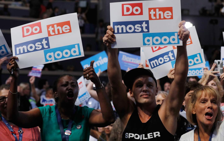 Hillary-Bernie Electoral Politics