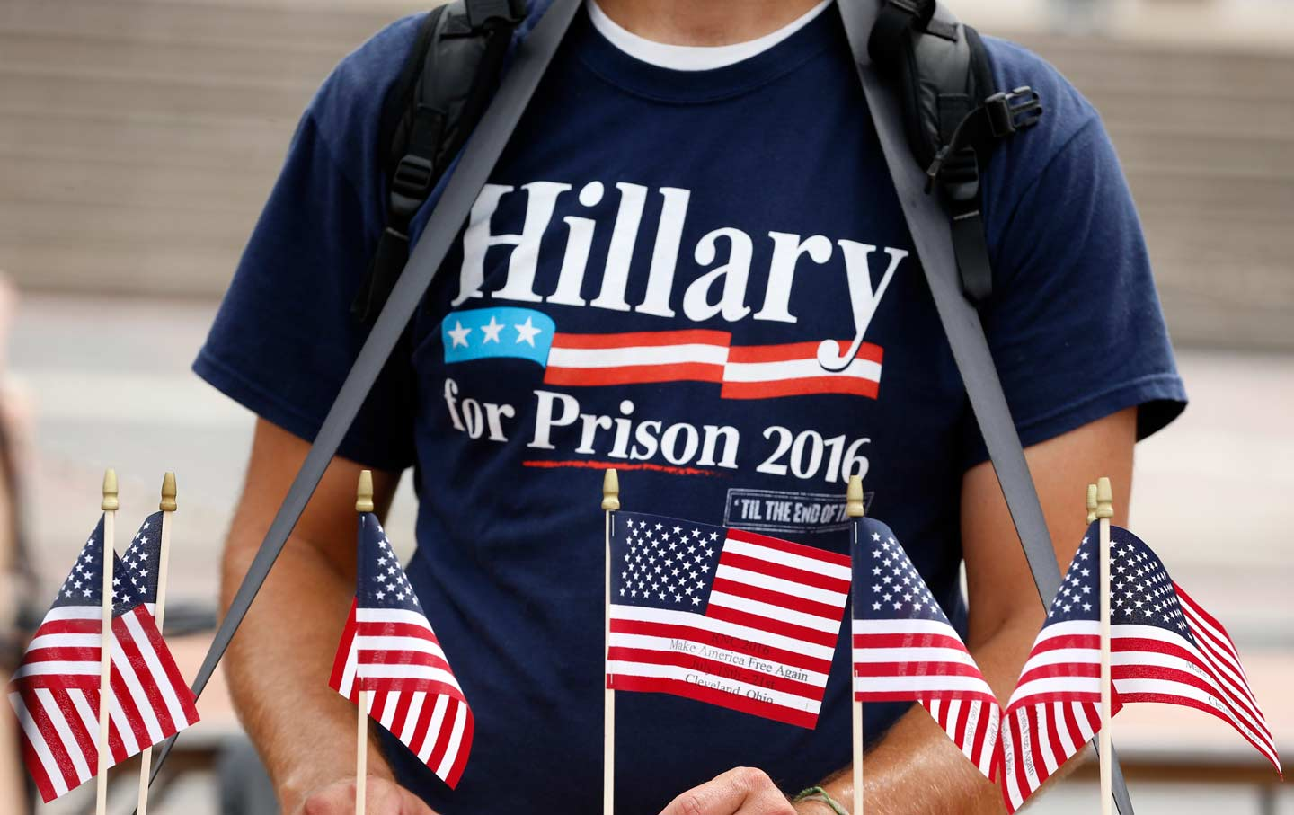 Hillary for Prison RNC T-Shirt