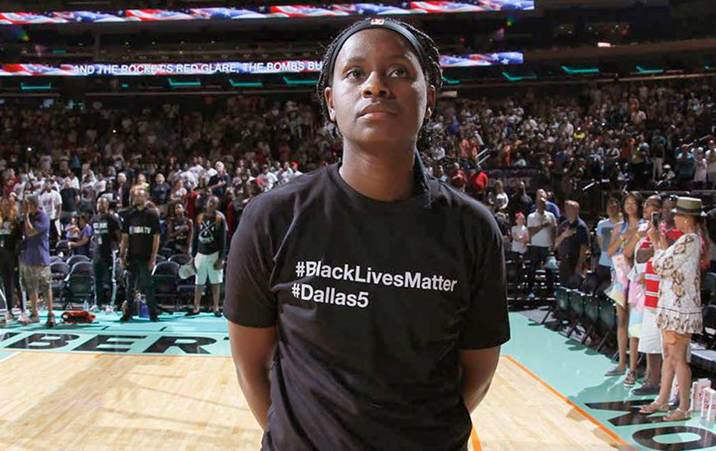 New York Liberty Black Lives Matter T-shirts