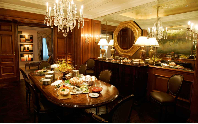 The Dining Room Of Alexander Great Suite At Trump Taj Mahal October 11 2007 David Gard Ap