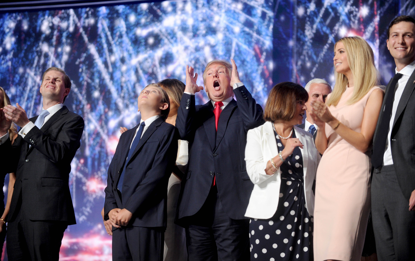 a rhetorical analysis of donald trumps republican national convention speech Day 4: donald trump formally accepted the republican party's 2016 presidential nomination, in a speech laden with attacks on the political establishment and bold promises to fix america's.
