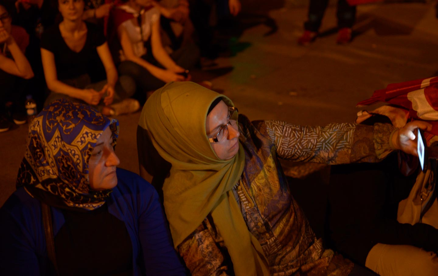 Turkey Coup Defeat Selfies