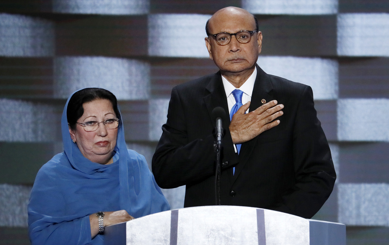 Khan Trump DNC