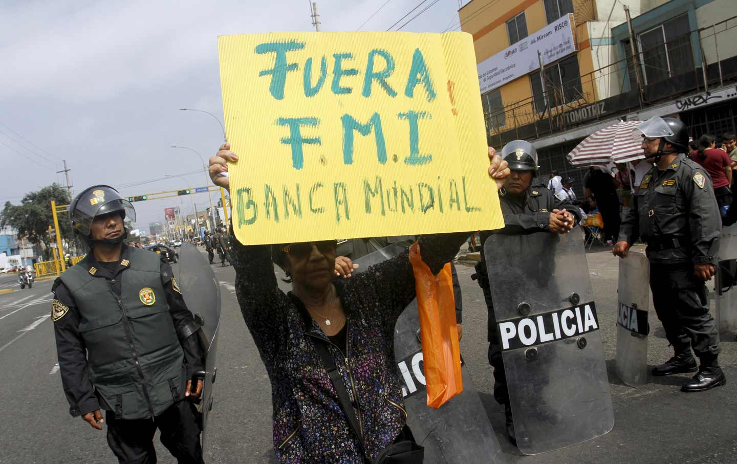 Peruvian Anti-IMF Protests