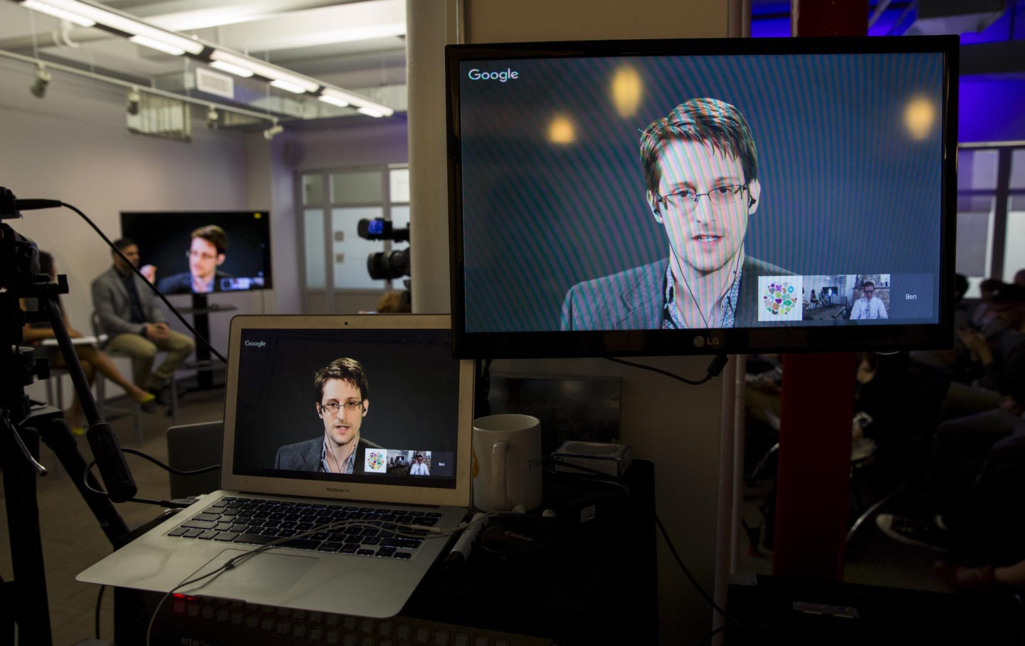 Snowden in New York City
