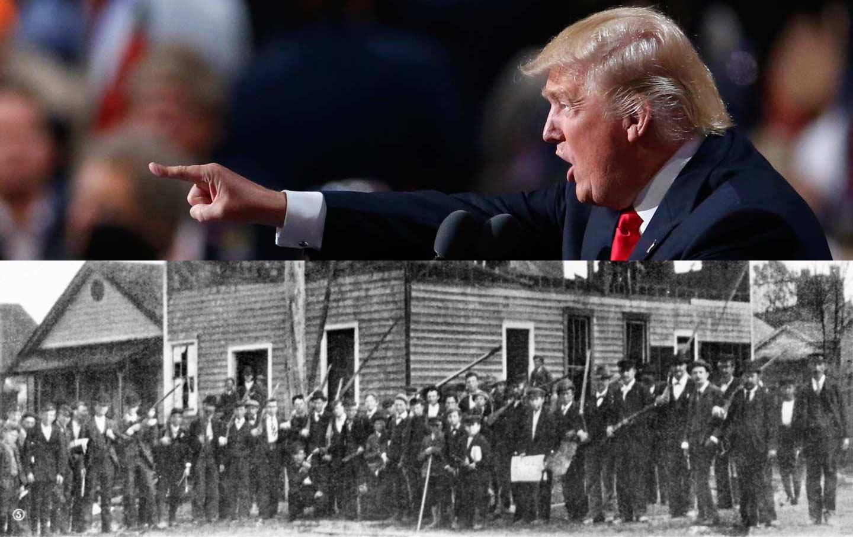 Trump / Wilmington riots