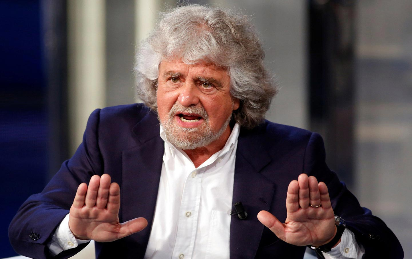 Image result for co-ruling 5-Star Movement Beppe Grillo