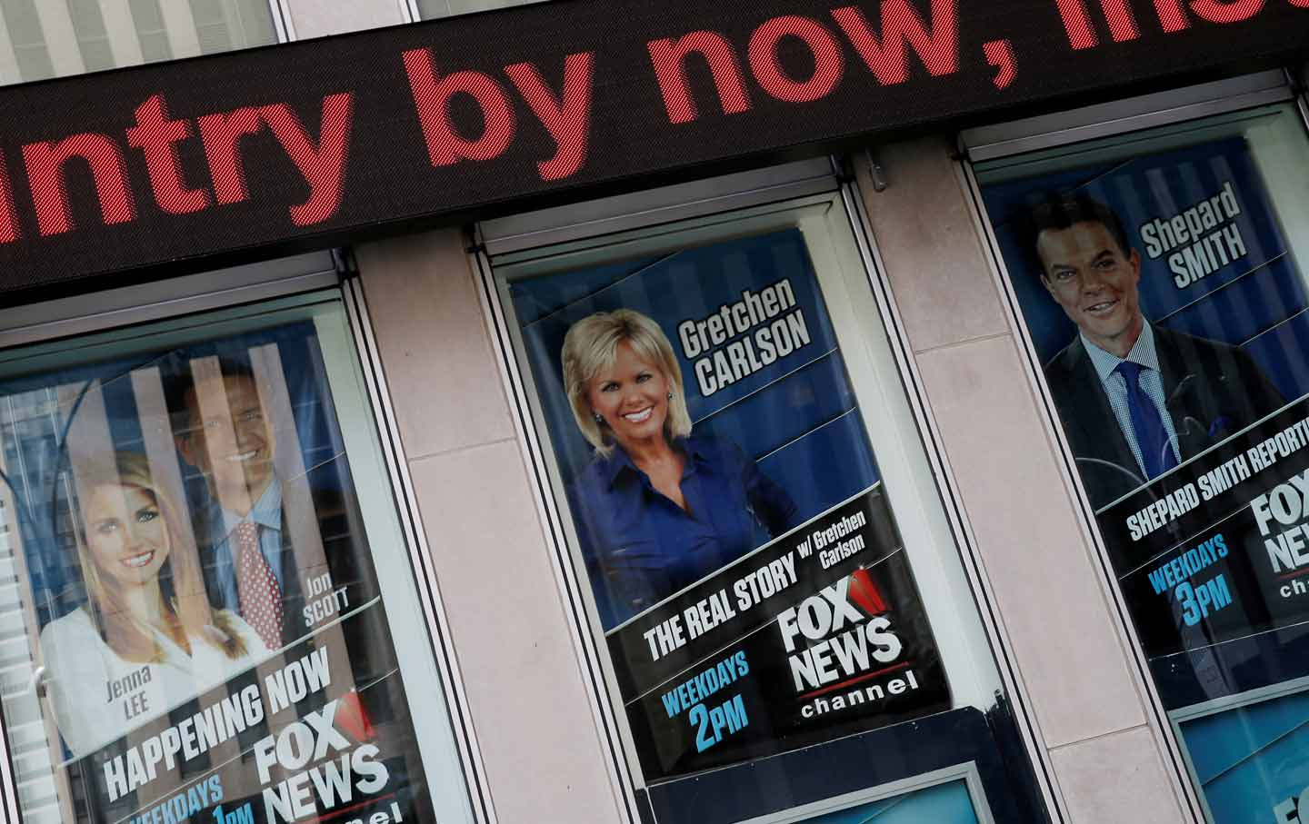 Gretchen Carlson at Fox News