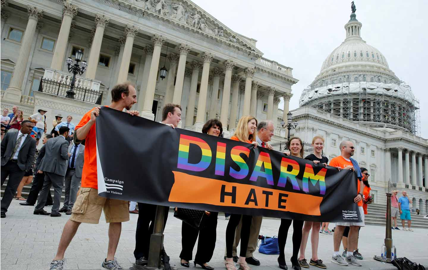 Disarm Hate Gun Protest