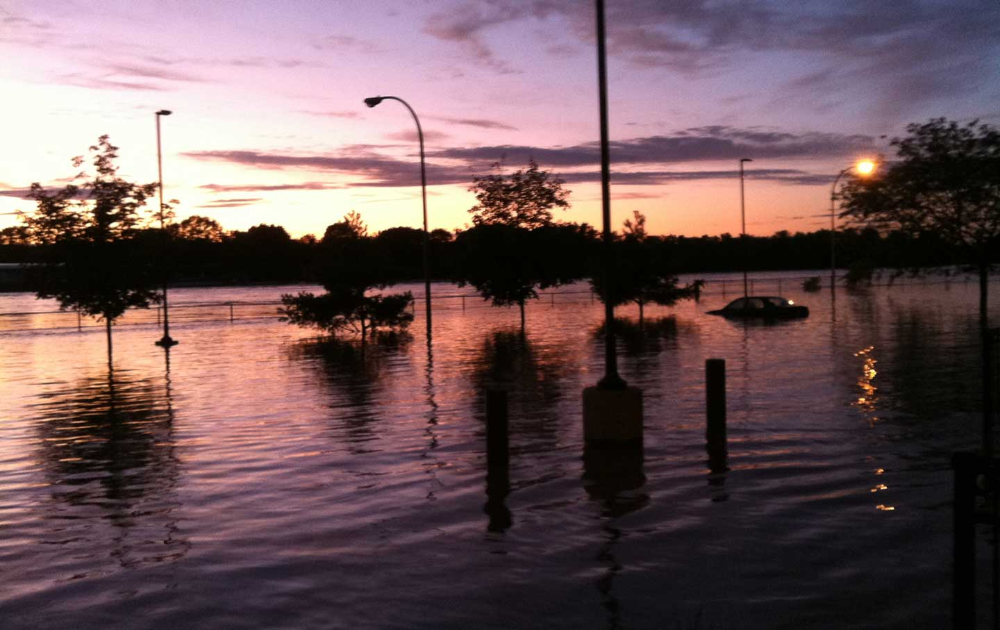 The Parking Lot Of The John P Taylor Apartments, Troy, New York (daniel  P Crawley)