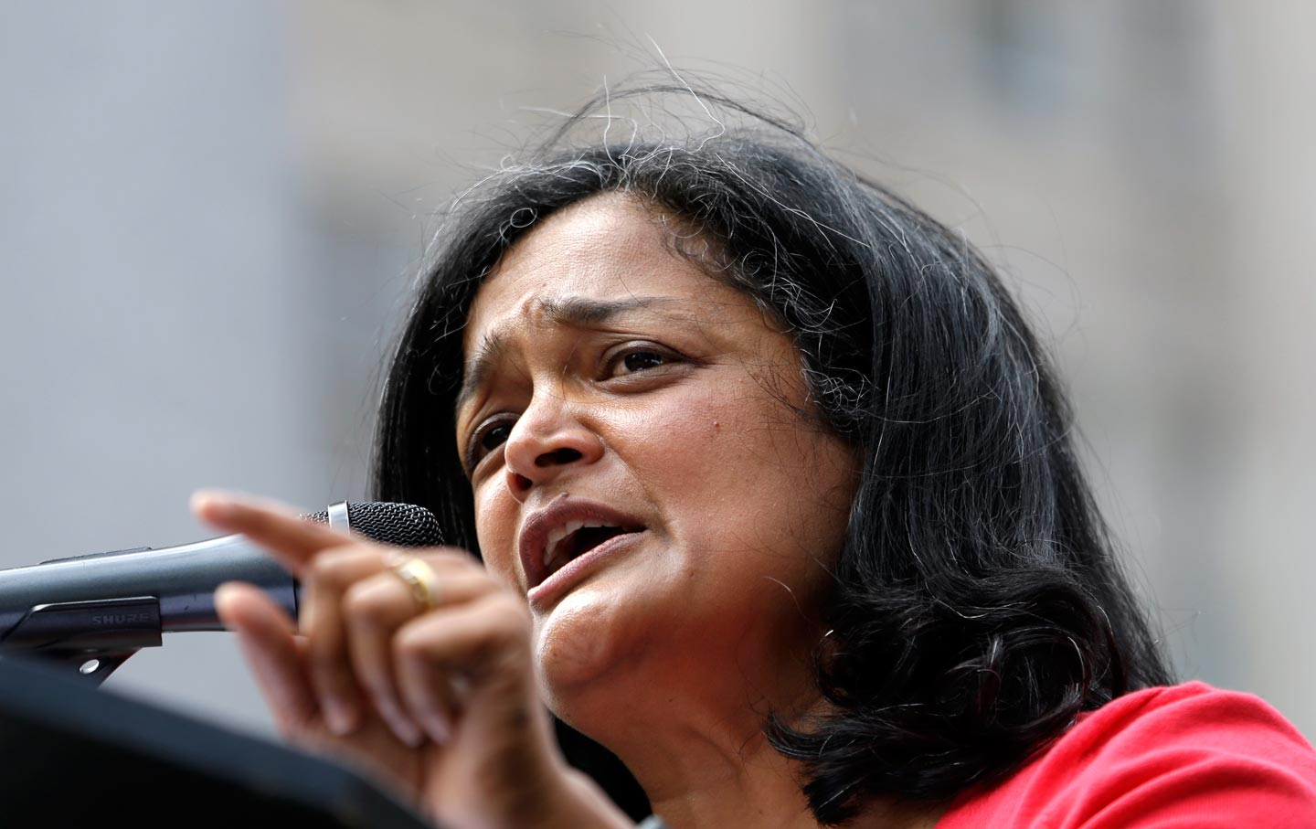 Pramila Jayapal speaking