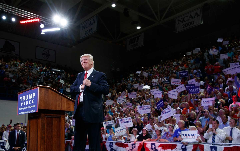 Trump Rally North Carolina