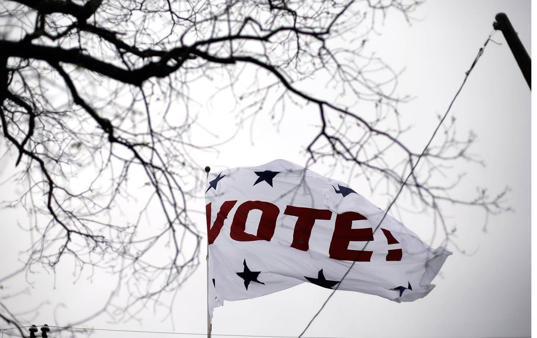 Vote Flag Texas