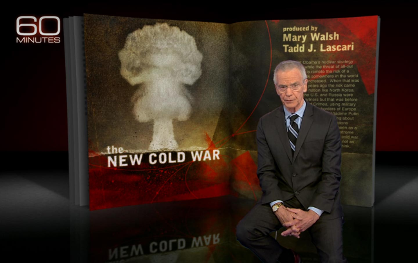 Correspondent David Martin On The New Cold War Which Aired 60 Minutes September 25 2016 CBS News