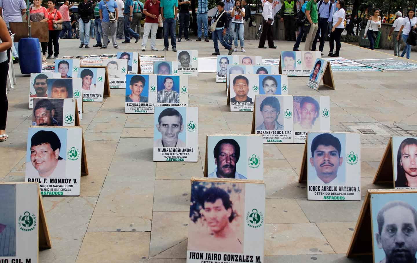The disappeared of Colombia