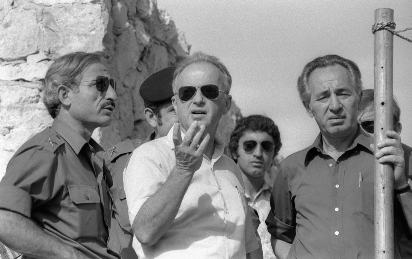 Peres in Hebron