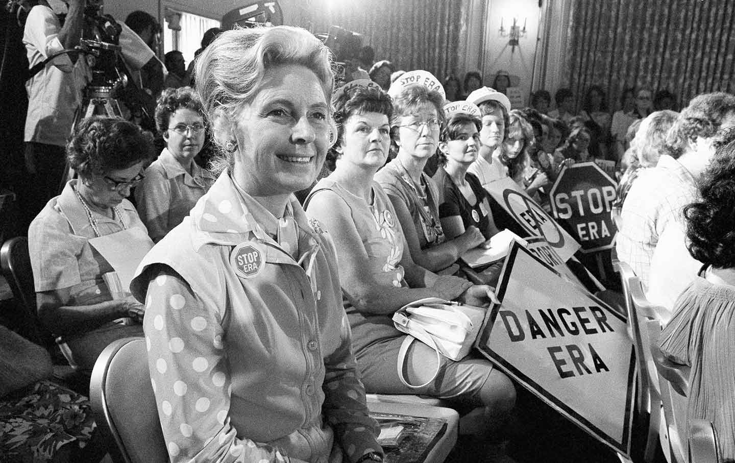 """phyllis women Phyllis schlafly, """"what's wrong with 'equal rights' for women"""" (1972) / of all the classes of people who ever lived, the american woman is the most privileged we have the most."""